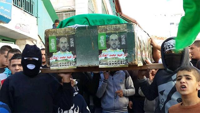 הלוויה סמלית בשועפט (צילום: מוחמד שינאווי) (צילום: מוחמד שינאווי)