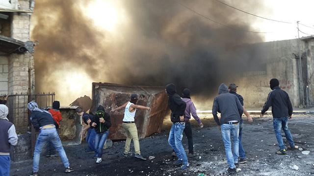 Clashes in East Jerusalem (Photo: Mohammed Shinawi)
