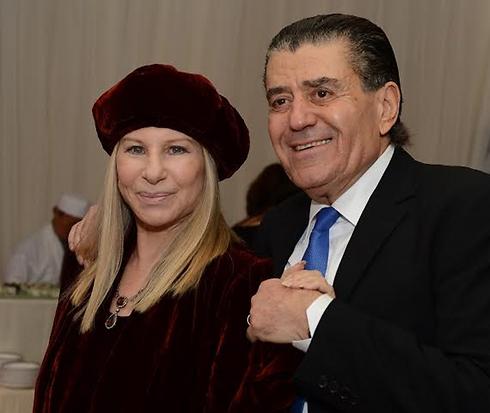 Streisand and Saban (Photo: Peter Halmagyl)