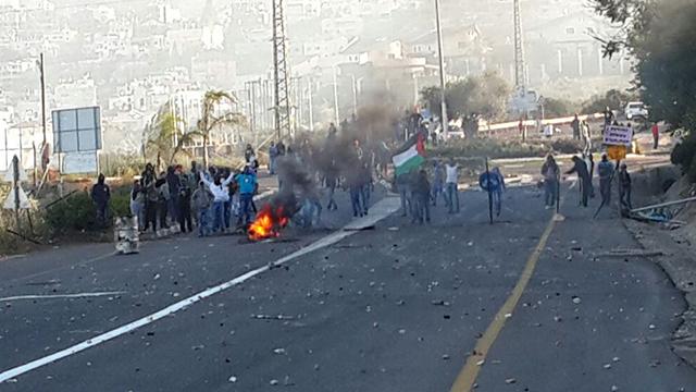 Riots in Kafr Kanna (Photo: Hassan Shaalan) (Photo: Hassan Shaalan)