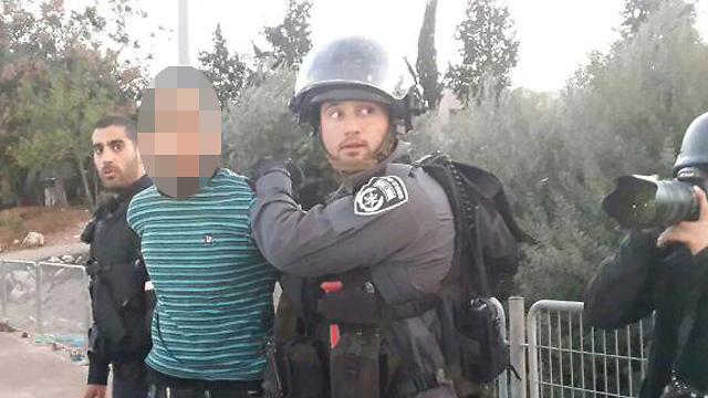 Arrests in Kafr Kanna on Saturday (Photo: Hassan Shaalan)  (Arrests in Kafr Kanna on Saturday (Photo: Hassan Shaalan) )