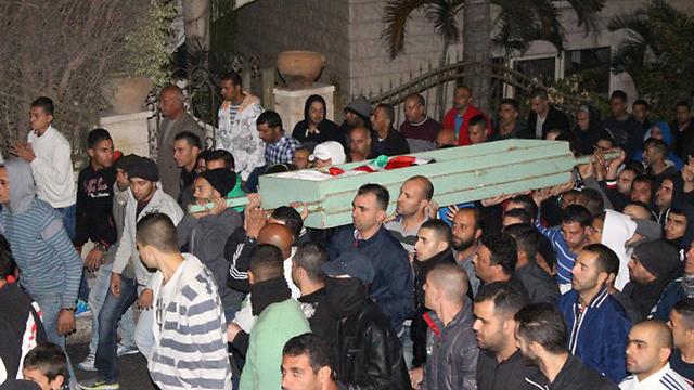 Khair Hamdan's funeral. (Alarab.net) (Photo: alarab.net)