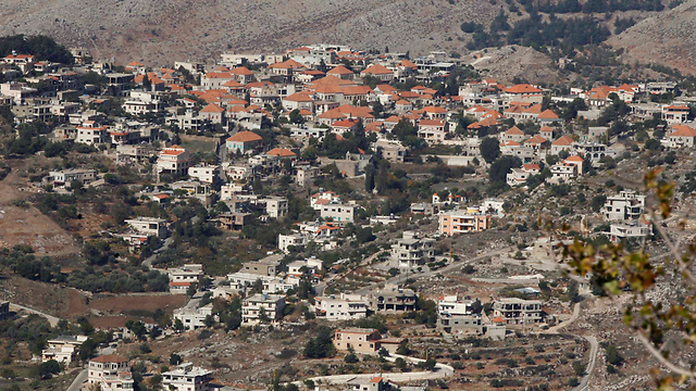 The Lebanese Druze town of Rashaya near the border with war-stricken Syria. (Photo: Reuters) (Photo: Reuters)