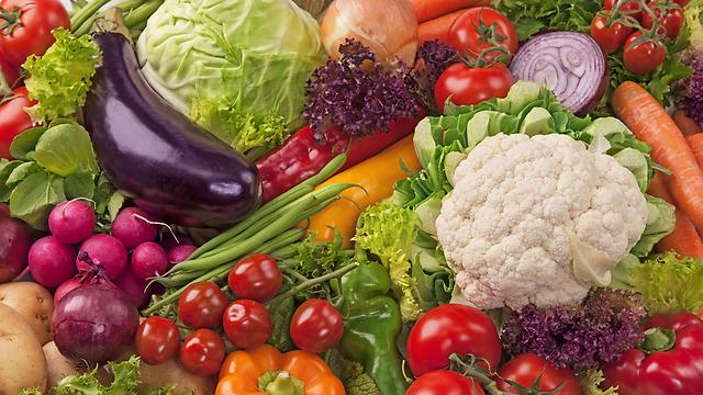 לא צריך יותר משלוש - ארבע מנות ליום. ירקות (צילום: shutterstock)