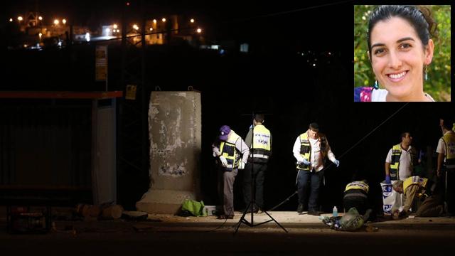 The scene of the attack (Photo: Ohad Zwigenberg)
