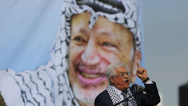 Coordination between the PASF and Israeli security forces only resumed after Arafat's passing and Abbas's election (Photo: AFP)