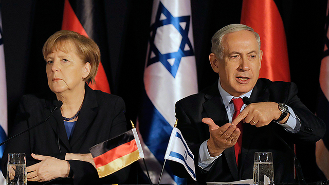 Netanyahu and Merkel. Israel and Europe are at loggerheads.  (Photo: Reuters)