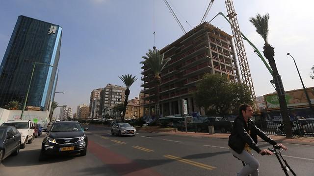 צומת עלית, כיום. בנייה מסיבית והתחדשות עירונית (צילום: ירון ברנר)
