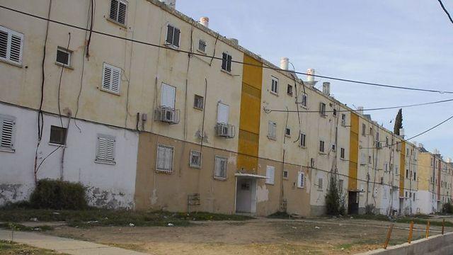 Public housing in southern Israel (Photo: Herzl Yosef)