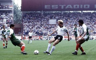 Inspiration: Footballer Karl-Heinz Rummenigge playing for West Germany. (Photo: AP) (Photo: AP)