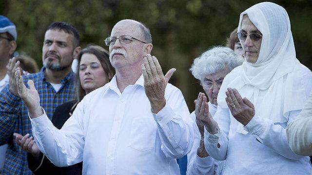התפילות לא עזרו. הוריו של קסיג, אד ופאולה, באינדיאנפוליס (צילום: AFP) (צילום: AFP)