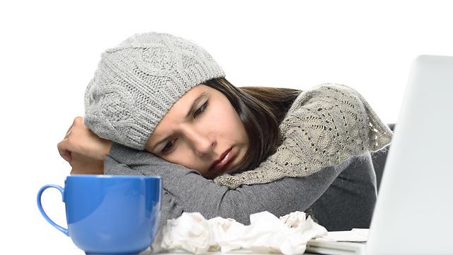 החורף עלול לגרום לדיכאון ולעייפות (צילום: shutterstock) (צילום: shutterstock)