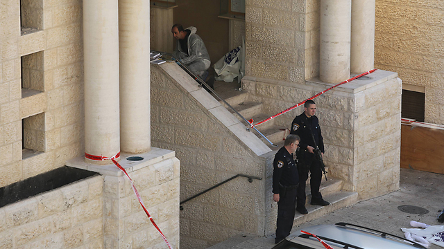 The scene of the attack (Photo: Gil Yohanan) (Photo: Gil Yohanan)