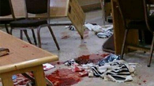 Attack at a Jerusalem synagogue: The terrorists acted alone.