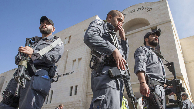 Security forces at the scene of the attack (Photo: AFP) (Photo: AFP)