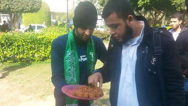 Celebratory treats in Gaza