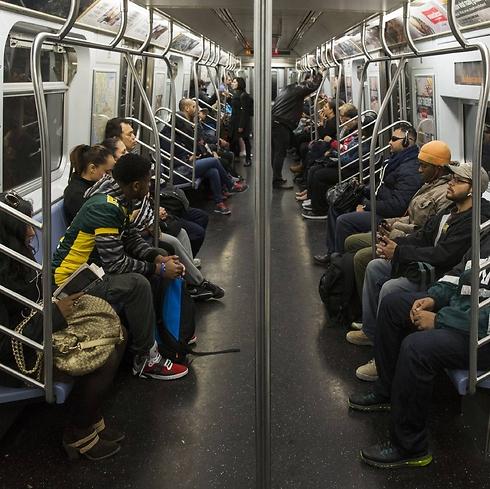 Rabbi Haim was attacked while waiting at a subway station in Williamsburg, Brooklyn. (Photo: Reuters) (Photo: Reuters)