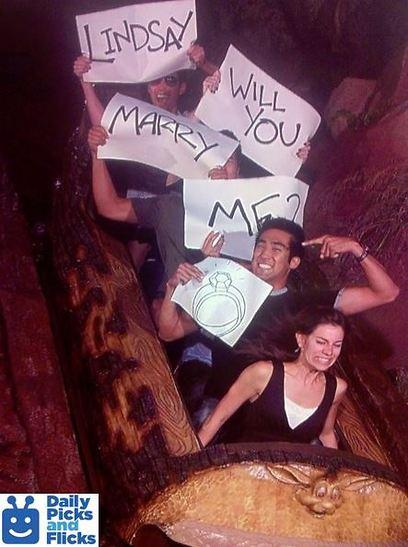הצילו! הוא רוצה להתחתן איתי! (קרדיט: צילום מסךDaily picks and flicks   ) (קרדיט: צילום מסךDaily picks and flicks   )