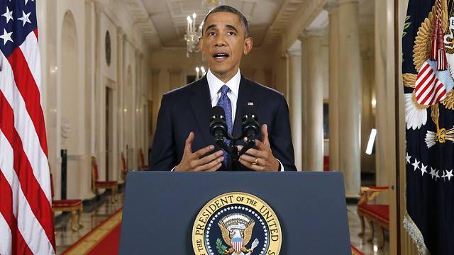 """אובמה. מיהר להבטיח: """"אצלי זה לא יקרה"""" (צילום: AP) (צילום: AP)"""