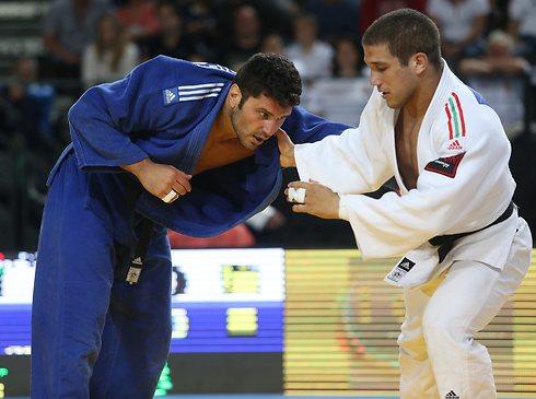 ניצח בדרבי ישראל וזכה במדליית הארד. אלון ששון (צילום: אורן אהרוני) (צילום: אורן אהרוני)
