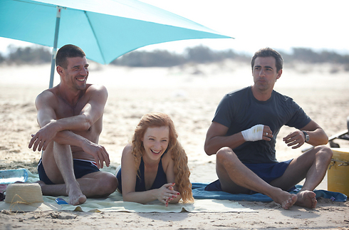 Yiftach Klein, Oded Leopold and Hilla Vidor in 'Summer Vacation'