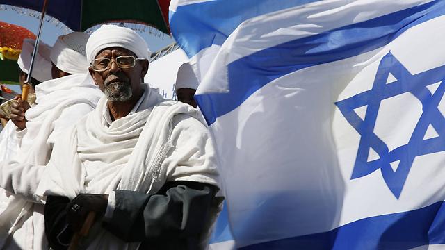 Репатриант из Эфиопии. Фото: АFP