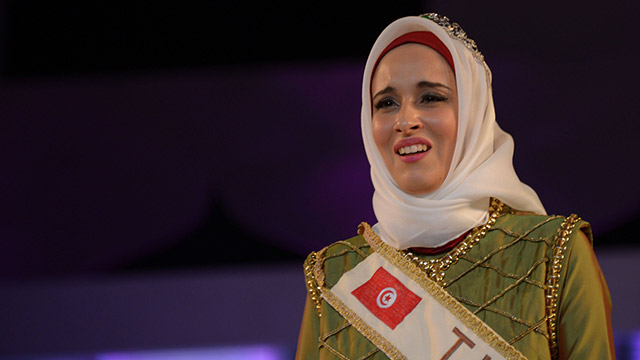 Fatma, Miss orld Muslimah (Photo: AFP)