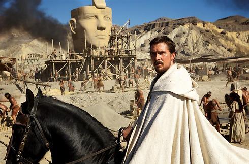 כריסטיאן בייל כמשה. העבדים העברים בנו את הפירמידות? ()