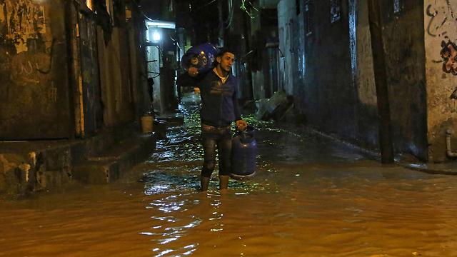 Flooded streets (Photo: AP) (Photo: AP)