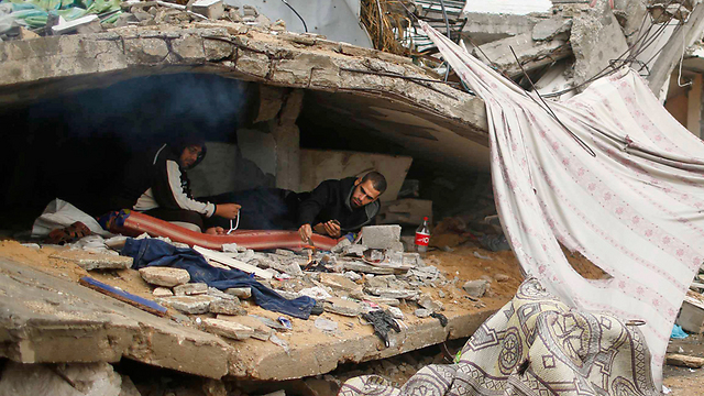 Beit Hanoun. UN declared a state of emergency (Photo: Reuters) (Photo: Reuters)