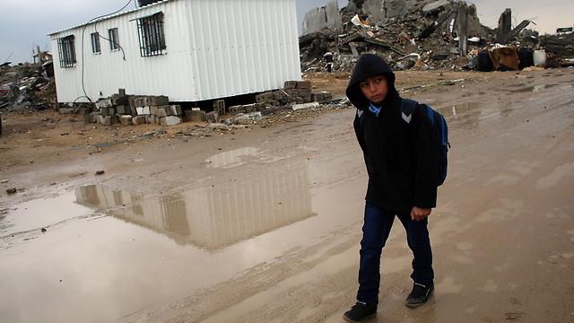 Gazan children's suffering (Photo: AFP)