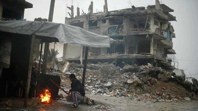 Over 96,000 homes damaged or destroyed (Photo: AFP) (Photo: AFP)