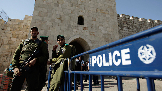 Border Police at Jerusalem's Old City (Photo: Reuters)