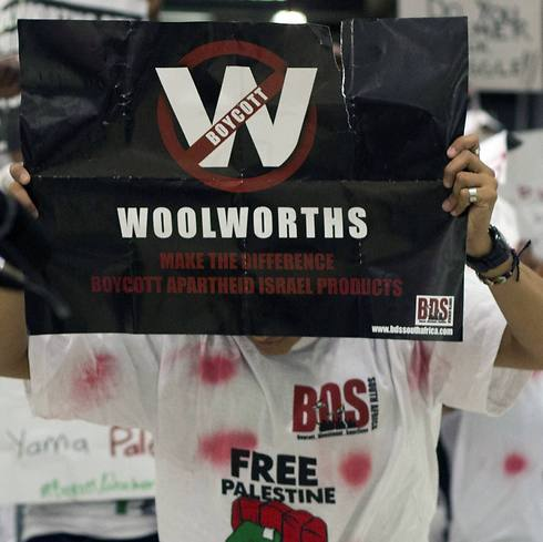 Anti-Israel protesters target Woolworths in South Africa over its sale of Israeli products (Photo: AFP)