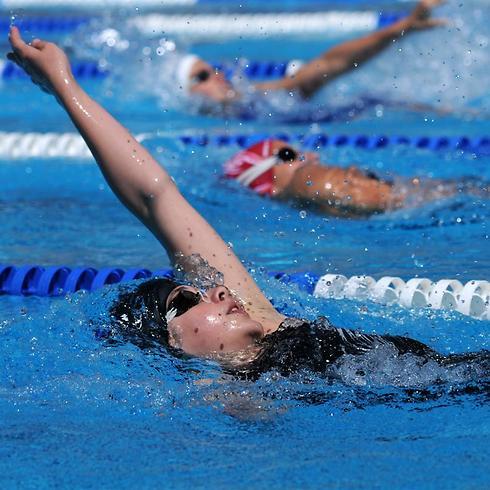 שחייה בקבוצה מעלה מוטיבציה ומהנה יותר ( צילום: shutterstock )