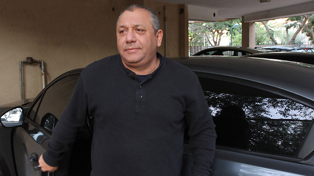 Eizenkot outside his home the day after the appointment was made public (Photo: Ido Erez)