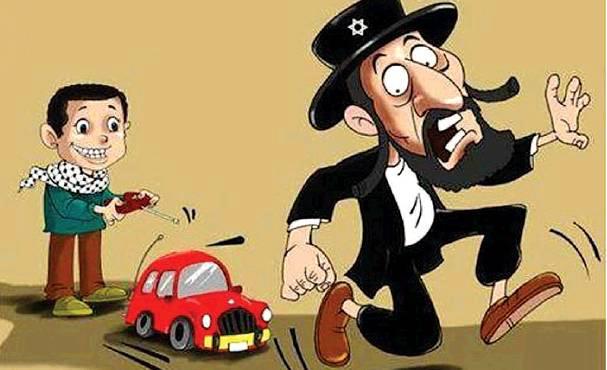 Online poster refers to recent vehicular terror attacks in Jerusalem.
