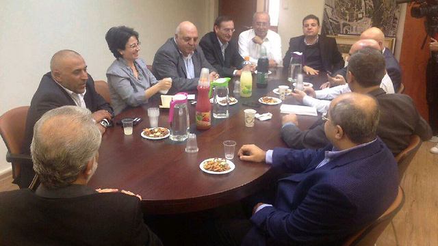 The MKs meet at the Knesset.