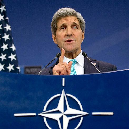 מזכיר המדינה קרי. האם אחרי הבחירות יהיה לו בישראל פרטנר לשלום? (צילום: AP) (צילום: AP)