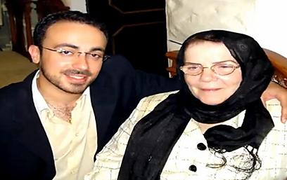Mordechai with his grandmother. 'Don't ask any questions. We're Muslims and that's all there is to it' (Photo: Orot)