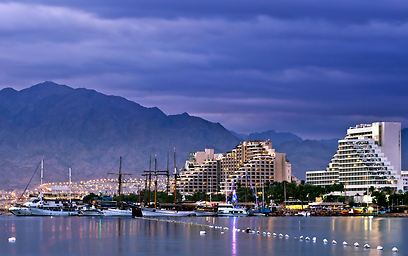 Number of tourist stays in southern resort city of Eilat plunged 50% from January 2014 and 75% from January 2000 (Photo: Shutterstock)
