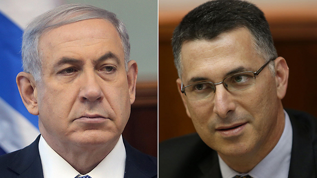 Netanyahu and Sa'ar: Rivals for Likud leadership. (Photos: Alex Kolomoisky) (Photos: Alex Kolomoisky)