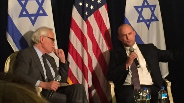 Bennett and Indyk (left). (Photo: Peter Halmagyi) (Photo: Peter Halmagyi)