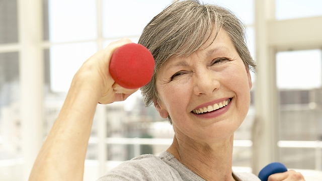 שיפור בכושר האירובי מעכב את הזדקנות הגוף בעשר שנים (צילום: shutterstock)
