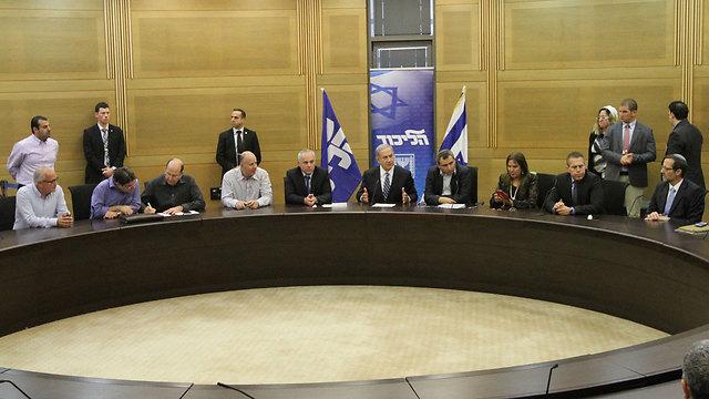 A Likud faction meeting (Photo: Ido Erez)