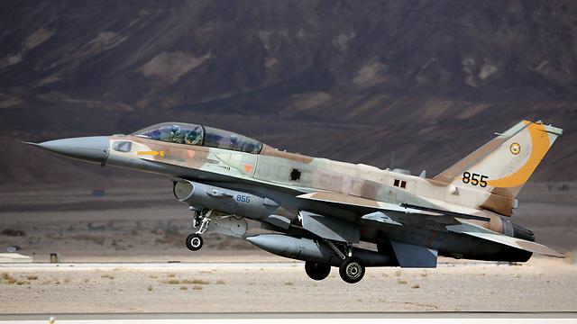 F-16I (Photo: EPA) (Photo: EPA)