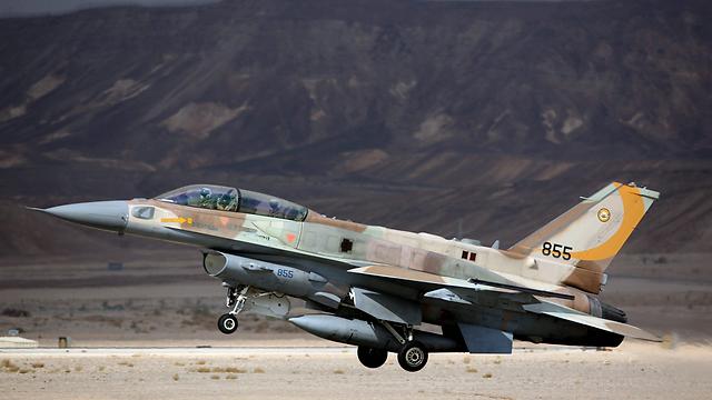 Israeli F-16I (Photo: EPA) (Photo: EPA)