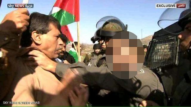 Abu Ein's struggle with IDF troops