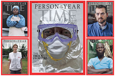 Ebola fighters named as Time's Person of the Year (Photo: Reuters)