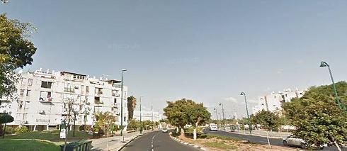 שדרות ירושלים בשכונת יפו ג'. שוק השכירות עדיין אינו מפותח (צילום: גוגל מפות)